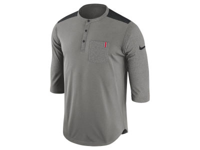 Nike NCAA Men's Dri-Fit Henley T-shirt