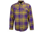LSU Tigers Columbia NCAA Men's Flare Gun Flannel Long Sleeve Shirt T-Shirts