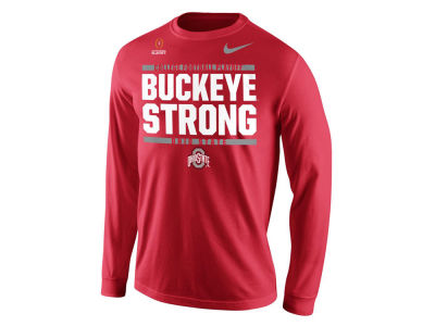 Nike NCAA Men's College Football Playoff Bound Verbiage Long Sleeve T-Shirt