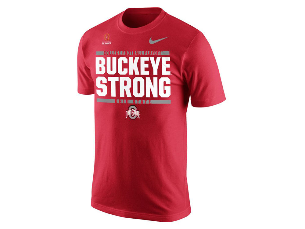 8edca9fdd928d durable modeling Ohio State Buckeyes Fiesta Bowl Nike 2017 NCAA Youth  College Football Playoff Bound T-Shirt