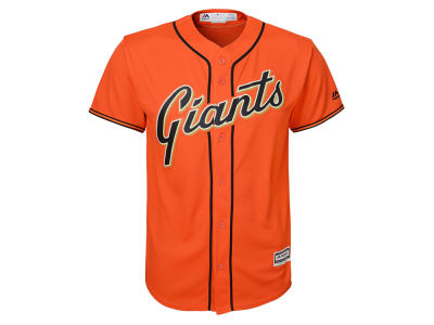 fd85b42d9c9 ... best price san francisco giants majestic mlb youth blank replica jersey  lids 39682 66d75