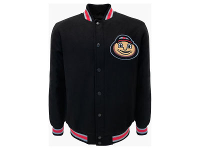 G3 Sports NCAA Men's Wool Brutus Varsity Jacket