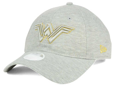 DC Comics Wonder Woman Gold Sheen 9TWENTY Strapback Cap Hats