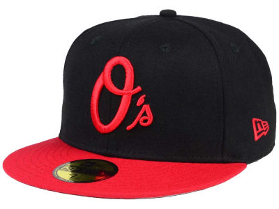 Baltimore Orioles MLB Black & Red 59FIFTY Cap Hats