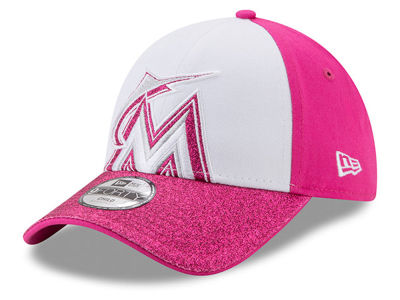 Miami Marlins MLB Kids Shine On 9FORTY Cap Hats