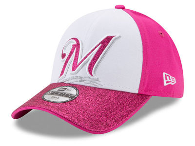 Milwaukee Brewers MLB Kids Shine On 9FORTY Cap Hats
