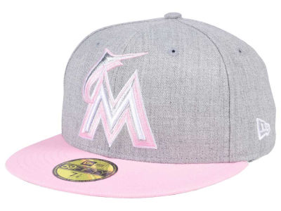 Miami Marlins MLB Perfect Pastel 59FIFTY Cap Hats