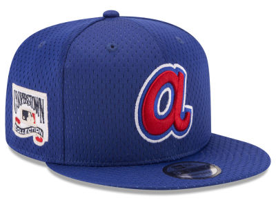 Atlanta Braves MLB Coop Mesh Authentic 9FIFTY Snapback Cap Hats