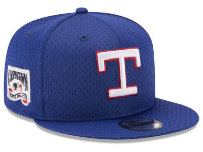 Texas Rangers MLB Coop Mesh Authentic 9FIFTY Snapback Cap Hats