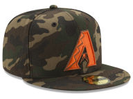 New Era MLB Camo On Canvas 59FIFTY Cap Fitted Hats