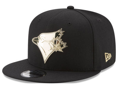 Toronto Blue Jays MLB Gold and Ice 9FIFTY Snapback Cap Hats