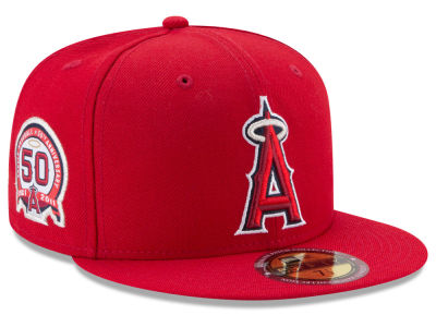 Los Angeles Angels MLB Ultimate Patch Collection Game 59FIFTY Cap Hats