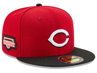 Cincinnati Reds MLB Ultimate Patch Collection Game 59FIFTY Cap Hats