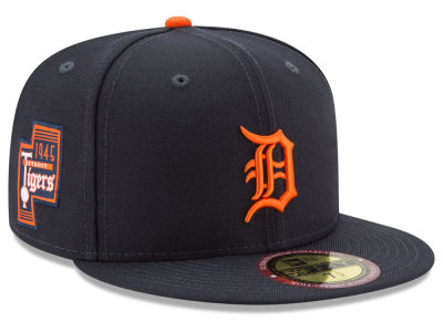 Detroit Tigers MLB Ultimate Patch Collection Game 59FIFTY Cap Hats