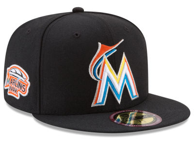 Miami Marlins MLB Ultimate Patch Collection Game 59FIFTY Cap Hats