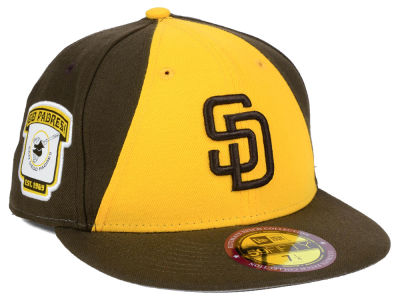 San Diego Padres MLB Ultimate Patch Collection Game 59FIFTY Cap Hats