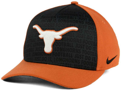 finest selection 91ecf cab41 Texas Longhorns Nike NCAA Just Do It Swooshflex Cap   lids.com
