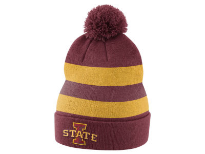 official photos 8686b 8f794 ... coupon for iowa state cyclones nike 2017 ncaa sideline knit lids baee0  36ae1