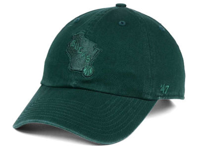 online store 0f2a8 40a8c Milwaukee Bucks  47 NBA Triple Rush CLEAN UP Cap   lids.com