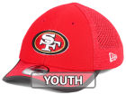 San Francisco 49ers New Era 2017 Kids NFL Training Camp 39THIRTY Cap Stretch Fitted Hats