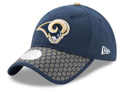 Los Angeles Rams 2017 Official NFL Women's Sideline 9TWENTY Cap Hats