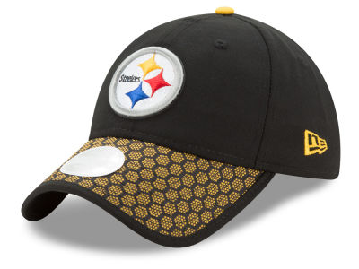Pittsburgh Steelers 2017 Official NFL Women's Sideline 9TWENTY Cap Hats