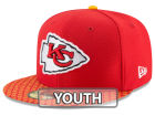 Kansas City Chiefs New Era 2017 Kids Official NFL Sideline 59FIFTY Cap Fitted Hats