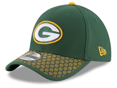 Green Bay Packers 2017 Official NFL Kids Sideline 39THIRTY Cap Hats