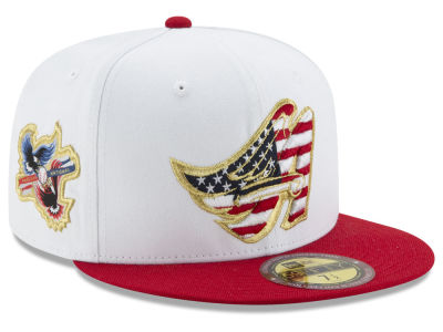 Los Angeles Angels MLB Americana Ultimate Patch Collection 59FIFTY Cap Hats