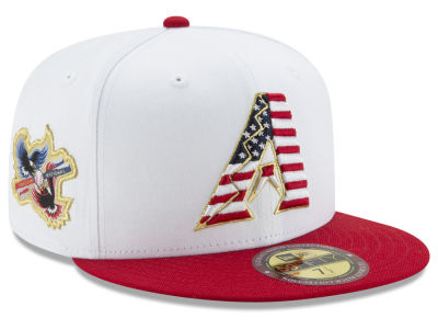 Arizona Diamondbacks MLB Americana Ultimate Patch Collection 59FIFTY Cap Hats