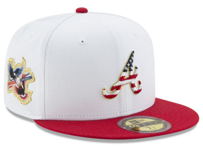 Atlanta Braves MLB Americana Ultimate Patch Collection 59FIFTY Cap Hats