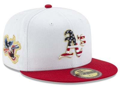 Oakland Athletics MLB Americana Ultimate Patch Collection 59FIFTY Cap Hats