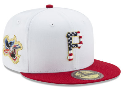 Pittsburgh Pirates MLB Americana Ultimate Patch Collection 59FIFTY Cap Hats