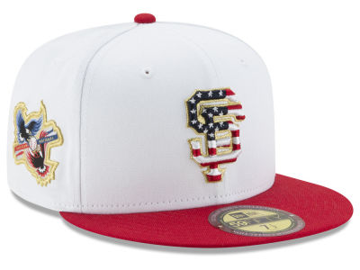 San Francisco Giants MLB Americana Ultimate Patch Collection 59FIFTY Cap Hats