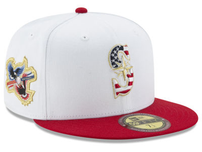 Seattle Mariners MLB Americana Ultimate Patch Collection 59FIFTY Cap Hats