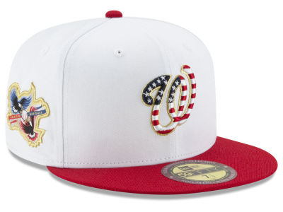 Washington Nationals MLB Americana Ultimate Patch Collection 59FIFTY Cap Hats
