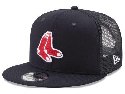 Boston Red Sox New Era Mlb On Field Mesh 9fifty Snapback