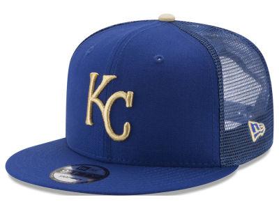 new concept 1ca0d a59ef ... diamond era fitted hat f9f07 8de16  hot kansas city royals new era mlb  on field mesh 9fifty snapback cap lids 4ad8d d99e7