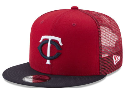 Minnesota Twins MLB On Field Mesh 9FIFTY Snapback Cap Hats