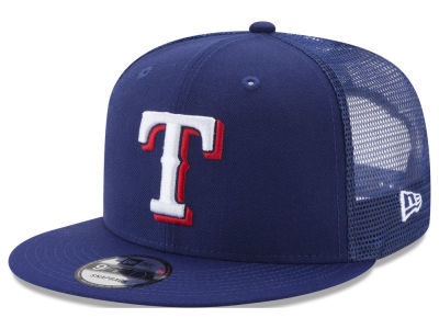 Texas Rangers MLB On Field Mesh 9FIFTY Snapback Cap Hats