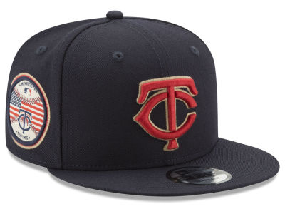 Minnesota Twins MLB Full Americana Patch 9FIFTY Snapback Cap Hats