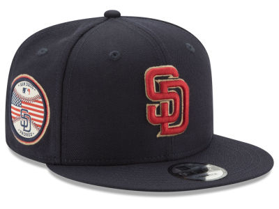 San Diego Padres MLB Full Americana Patch 9FIFTY Snapback Cap Hats