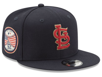 St. Louis Cardinals MLB Full Americana Patch 9FIFTY Snapback Cap Hats