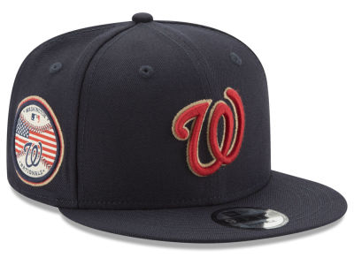 Washington Nationals MLB Full Americana Patch 9FIFTY Snapback Cap Hats