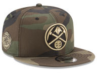 New Era NBA Metallic Woodland 9FIFTY Snapback Cap Adjustable Hats