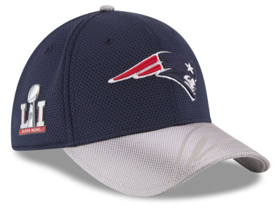 New England Patriots NFL Super Bowl LI Sideline Patch 39THIRTY Cap Hats