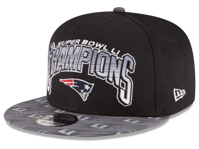New England Patriots Super Bowl LI Champ 9FIFTY Cap Hats
