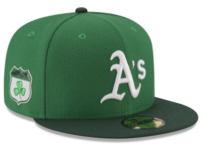 Oakland Athletics 2017 MLB St. Pattys Diamond Era 59FIFTY Cap Hats