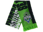 Seattle Sounders FC adidas MLS Jacquard All Over Scarf Apparel & Accessories