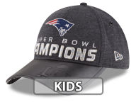 New Era NFL Super Bowl LI Youth Champ Locker Room 9FORTY Cap Adjustable Hats